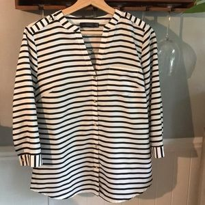 EUC The Limited striped top